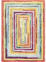 nuLoom Hargis Labyrinth Rug, 9' x 12', Multicolor