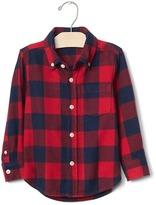 Gap Buffalo plaid button-down shirt