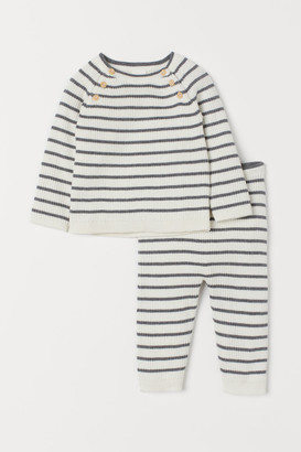 H&M Cotton jumper and trousers