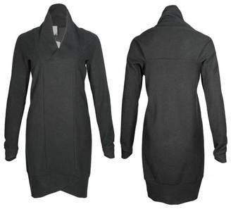 Format Pond Dress - black fluffy / XS