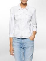 Calvin Klein Stretch Cotton Trucker Jacket