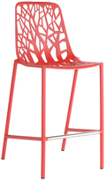 Janus et Cie Forest High Back Counter Height Stool