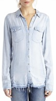 Sole Society Brain Bleach Button Down Shirt