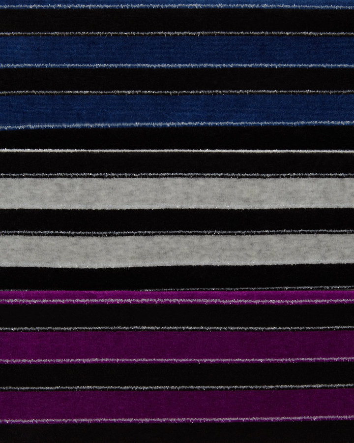 Joan Vass Sparkly Velour Tunic