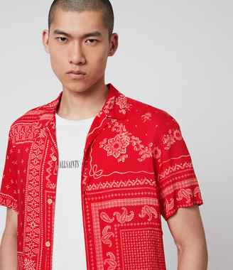 AllSaints Cherito Short Sleeve Shirt