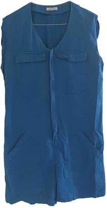 Surface to Air Blue Cotton Jumpsuit for Women