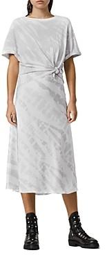 AllSaints Tie Dye Knotted Tee & Dress Set