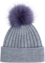 Accessorize Contrast Pom Beanie Hat
