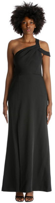 BCBGMAXAZRIA Eve Long Woven Dress