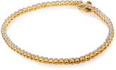 Kobelli Jewelry 1/2 CT TDW Round Diamond Gold-Plated Sterling Silver Bracelet