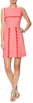 M Missoni Scallop Panel A-line Dress