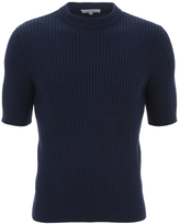 Carven Short Sleeve Knit Marine