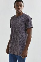 Urban Outfitters Long Print Roll Sleeve Tee