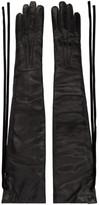 Ann Demeulemeester Black Joris Long Gloves
