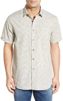 Howe Balboa Crosshatched Short Sleeve Trim Fit Shirt