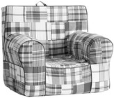 Pottery Barn Kids Gray Madras Anywhere Chair ®