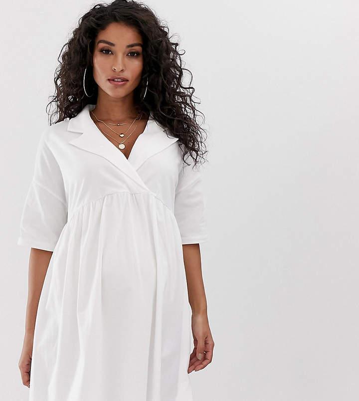 d1b0248f415 Maternity Smock Dress - ShopStyle Australia