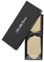 Saks Fifth Avenue Floating Medallion Silk Tie