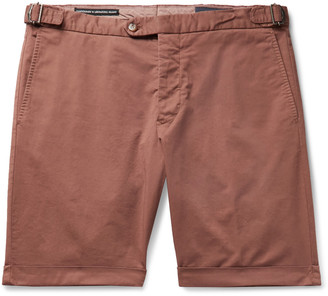 Thom Sweeney Cotton-Blend Twill Chino Shorts