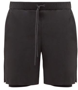 Jacques - Drawstring Compression Shorts - Mens - Black
