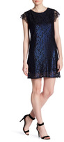 Collective Concepts Short Sleeve Lace Dress