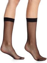 "Wolford Individual 10"" Mesh Socks"
