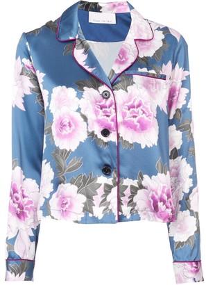 Fleur Du Mal pajama shirt