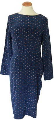 Band Of Outsiders Blue Silk Dress for Women