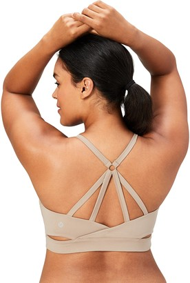 Core 10 Amazon Brand Women's Icon Series - The Ballerina Plus Size Sports Bra