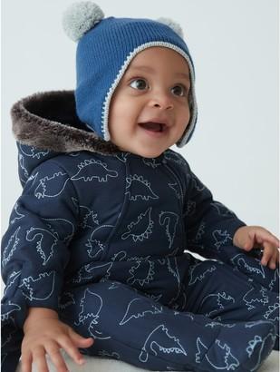 M&Co Dino snowsuit (newborn-24mths)
