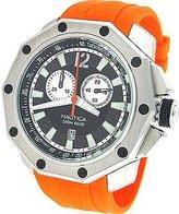 Nautica Men's N24519G NVL100 Orange Resin Watch