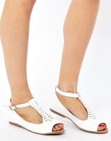 Asos JIVE Leather Flat Shoes