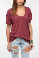 Truly Madly Deeply Scoopneck Pocket Tee