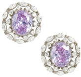 Nina Women's Estate Button Earrings