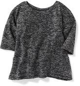Old Navy Marled Swing Sweater for Toddler Girls