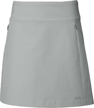 Cutter & Buck Women's Moisture Wicking 50+ UPF Pacific Pull-on Skort with Pockets