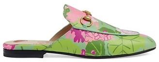 Gucci x Ken Scott Princetown Floral Slippers