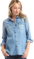 Gap Western chambray shirt