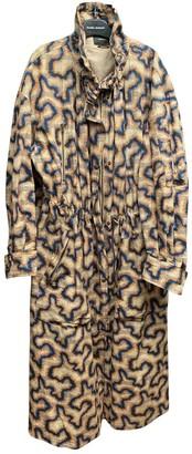 Isabel Marant Orange Cotton Trench Coat for Women