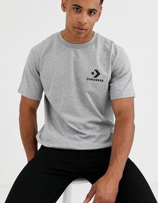 Converse Star Chevron T-Shirt in grey