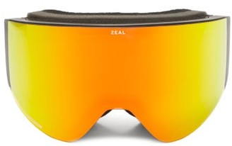 Zeal Optics Hatchet Optimum Cylindrical Tpu Goggles - Red Multi