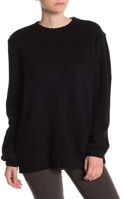 Cotton Emporium Crew Neck Tunic Sweater