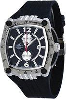 Adee Kaye Men's Chronograph Watch AK4009-M Black
