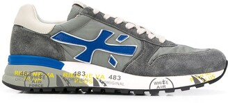 Premiata Mick distressed sneakers