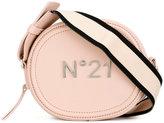 No.21 logo plaque cross body bag - women - Leather - One Size
