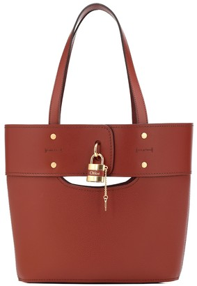 Chloã© Aby Small leather tote