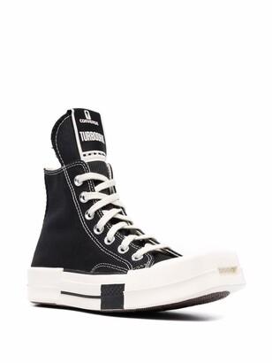 Converse X Rick Owens square-toe baseball boots