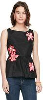 Kate Spade Tiger lily peplum top