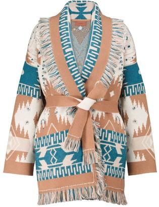 Alanui Regenerated Big Dream cashmere and wool cardigan