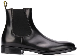 Doucal's Elasticated Panel Ankle Boots